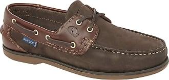 Quayside Clipper, Unisex Adults Boat Shoes, Brown (Oak/Chestnut), 9.5 UK (44 EU)