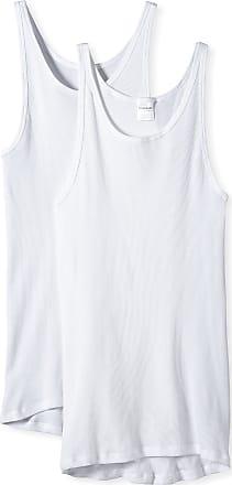 Schiesser Mens Vest, 005051-100, White (100-Weiss), XX-Large (XXL)
