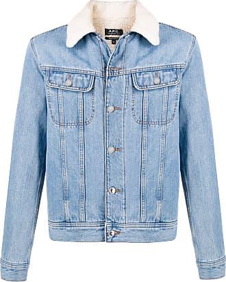 A.P.C. Julien regular-fit denim jacket - Azul