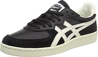 Onitsuka Tiger ASICS Gsm, Unisex Adults Low-Top Sneakers, Black (Black/White 9099), 8.5 UK (43 1/2 EU)