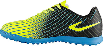 Topper Chuteira Topper Ultra Society - Amarelo Neon/azul/preto