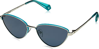 Polaroid Womens Pld 6071/S/X Sunglasses, Multicolour (Azurepall), 56