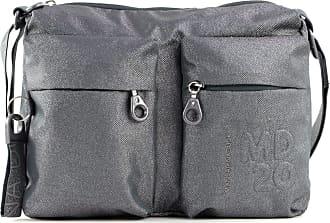 Mandarina Duck Womens MD 20 LUX Handbag, Lead, Taglia Unica