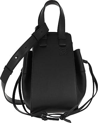 Loewe Bucket Bags - Hammock Drawstring Small Bag Black - black - Bucket Bags for ladies
