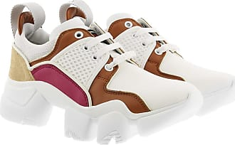 Givenchy Sneakers - Low JAW Sneakers Neoprene Leather White/Caramel - white - Sneakers for ladies