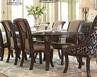 Ashley Furniture Valraven Dining Room Table, Brown