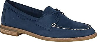 Sperry Top-Sider Sperry Womens Seaport Boat Shoe, Navy, 7 M US