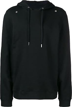 Zilver organic cotton hoodie - Black