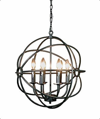 Gallery T22-3090 Spherical Orb 6 Light 20 Wide Candle Style
