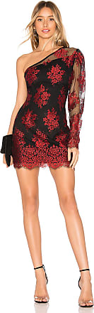 h:ours Lexander Mini Dress in Red