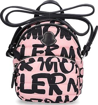 Moncler Umhängetasche KILIA PM Stoff Logo Print pink