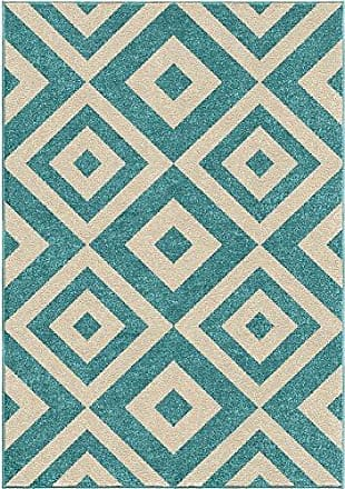 Orian Rugs Kids Court Maricopa Area Rug, 52 x 76, Teal