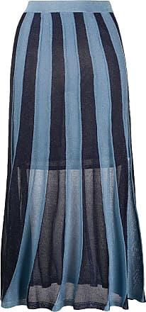 Sandro Saia Damon de tricô - Azul