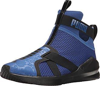 3febedc548f Puma Womens Fierce Strap WNs Cross-Trainer Shoe True Blue Black