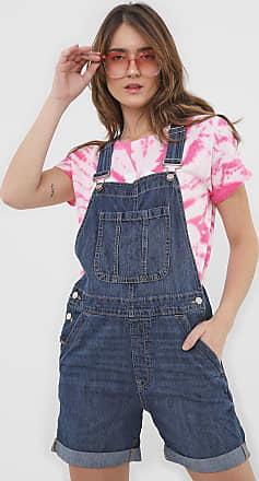 GAP Jardineira Jeans GAP Charlotte Azul
