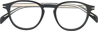 David Beckham Armação de óculos redonda - Preto