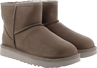 UGG Boots & Booties - W Classic Mini Leather Feather - brown - Boots & Booties for ladies