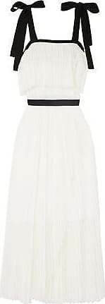 Philosophy di Lorenzo Serafini Philosophy Di Lorenzo Serafini Woman Point Desprit Maxi Dress Ivory Size 38