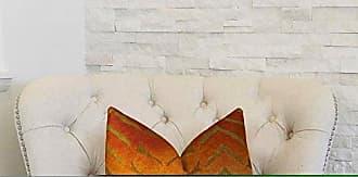 Plutus Brands Plutus Magnetism Handmade Throw Pillow 12 x 20 Orange