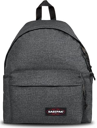 Eastpak Gepolsterter Rucksack aus schwarzem Denim - one size