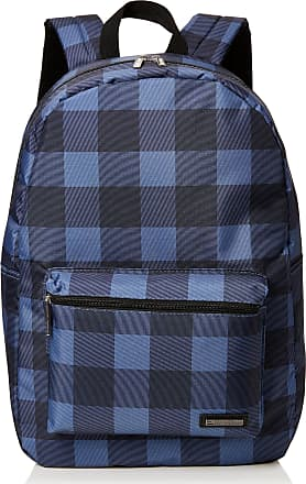 Ben Sherman Unisex-Adult Hero Backpack Blue (Warped Gingham)
