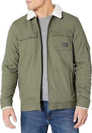 O'Neill Mens Sherpa Lined Heavy Weight Jacket Fleece, Military Green/Ranger, XL