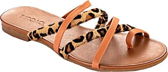 Inuovo 101030 Coconut + Leopard Brown Size: 5 UK