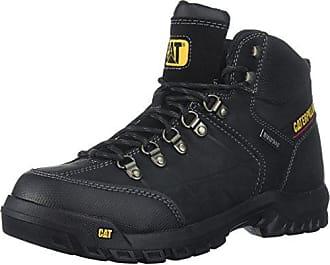 CAT Mens Threshold Waterproof Industrial Boot, Black, 10 M US