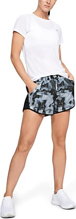 Under Armour Short Fly By Printed Cinza - Mulher - PP BR