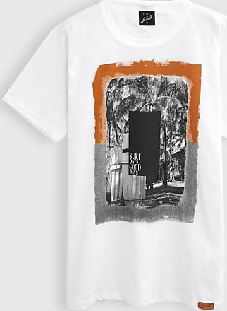 Elian Camiseta Elian Infantil Estampada Branca