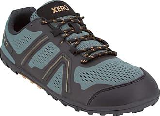 Xero Shoes Mesa Trail - Mens Lightweight Barefoot-Inspired Minimalist Trail Running Shoe. Zero Drop Sneaker Green Size: 8 Wide