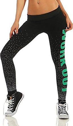 Damen Mode Patchwork Lang Hosen Jogginghose Skinny Sweathose Freizeit Laufhose
