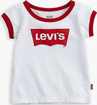Levi's Kids Oversized Batwing Ringer Blanc / White
