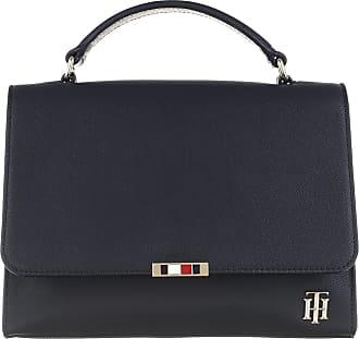 Tommy Hilfiger Satchel Bags - Saffiano Satchel Sky Captain - blue - Satchel Bags for ladies
