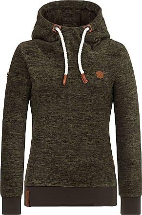 Naketano Kanisterkopf Damen Fleecepullover Hoody, Größen Textil:S