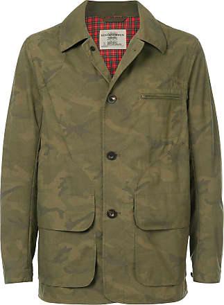 Kent & Curwen camouflage print jacket - Green