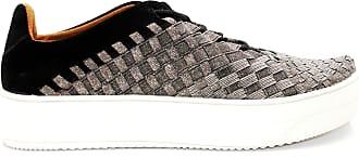 bernie mev. Womens Mid Olympia Fashion Sneaker (Gunmetal, Numeric_6)