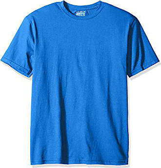 Gold Toe Mens Cotton Stretch T-Shirt, Royal, Small