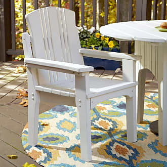 UWharrie Chair Uwharrie Carolina Preserves Outdoor Dining Chair with Arms, Patio Furniture - C075-024P