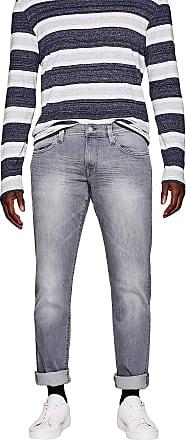 EDC by Esprit edc by ESPRIT Mens 997cc2b807 Slim Jeans, Grey (Grey Light Wash 923), W34/L32