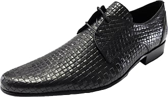 Ikon Original Mens Buckler Weave Shoes (7 UK) Black