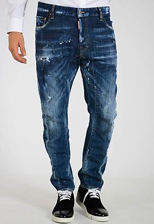 Dsquared2 Jeans TIDY BIKER in Denim Stretch 17cm taglia 48 30ab32f76ee3