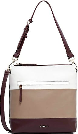 Fiorelli Womens Elliot Mocha Stripe Shoulder Bag