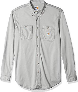 70c7775b0e6 Carhartt Work in Progress Mens Big Big   Tall Flame Resistant Force Cotton  Hybrid Shirt