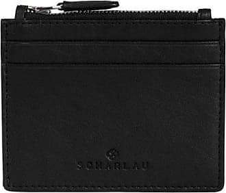 Scharlau Perls Credit Card Holder Black