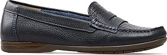 Van Dal Womens Helen Leather Wide Fit Loafers (Elba Blue, 6.5)