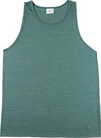 KOHMAR Camiseta Regata Básica Masculina kohmar- Verde Mescla- 101