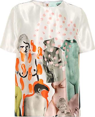 Marni Printed satin T-shirt