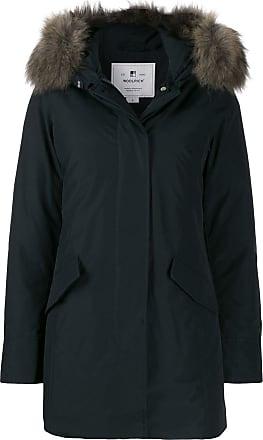 Woolrich hooded parka coat - Blue