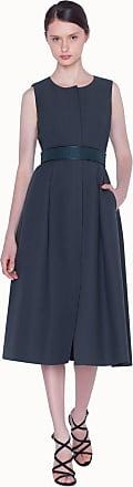 Akris Dress in Double Weave Cotton